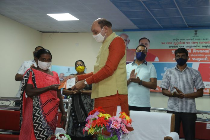 Benefits Distributed to Ration Card Holders Under NFSA in Choryasi-suratheadlines