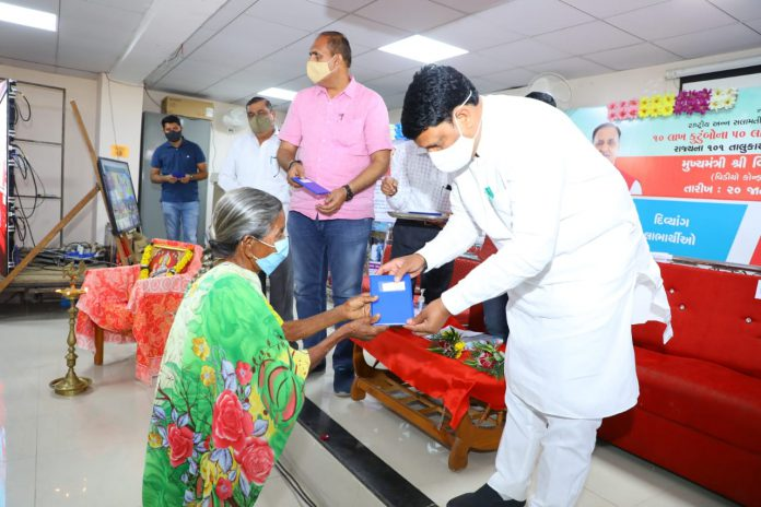 Benefits Distributed to Ration Card Holders Under NFSA in Mangrol-suratheadlines