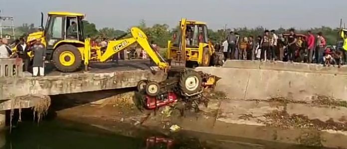 Death of Tractor Driver in Canal Passing Through Shinor in Vadodara-suratheadlines