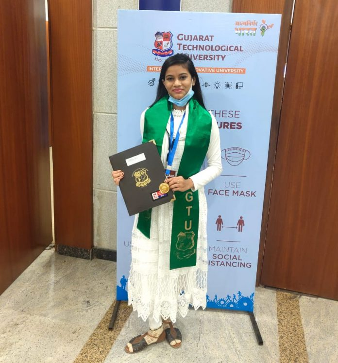 Girl of Palej Passed at Top Level in College and Gujarat University-suratheadlines
