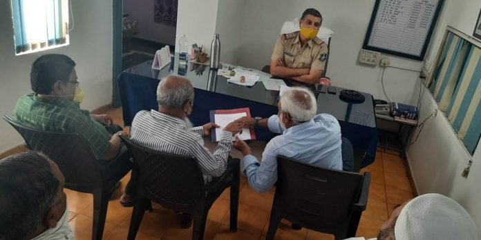 Peace Committee Meeting Held at Palej Police Station-suratheadlines
