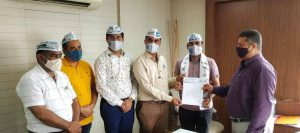 Application of AAP to District Collector in Surat-suratheadlines