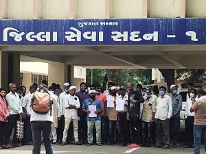 Application of Tribal Community at Collectorate of Godhra-suratheadlines