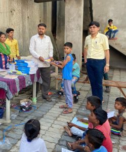 Distribution of Study Items to Needy Students at Bharuch-suratheadlines