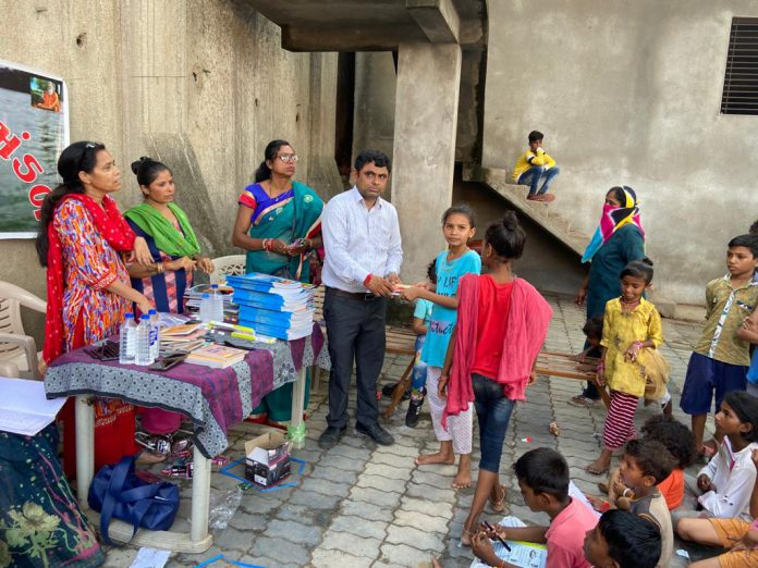 Distribution of Study Items to Needy Students in Bharuch-suratheadlines